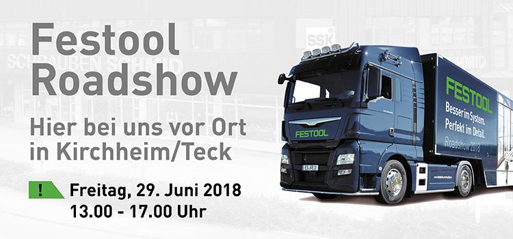 FESTOOL Roadshow 29.06.2018, 13.00 - 17.00 Uhr